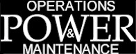 Operations and Maintenance Power Logo